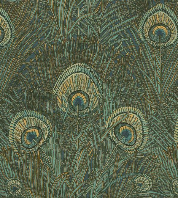Hera - Azure Fabric Heritage Collection Liberty Art