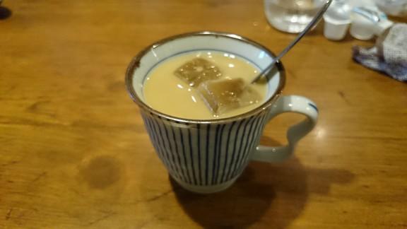 難波串かざり コーヒー
