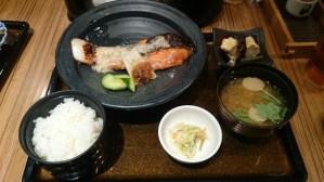 難波のおすすめ和食ランチ!佐海屋旭の銀鮭塩こうじ焼き定食