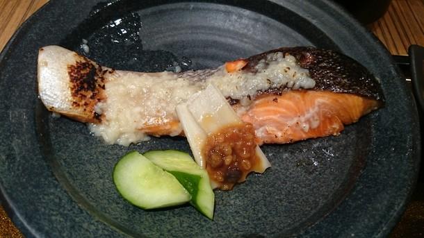 銀鮭の塩こうじ焼き