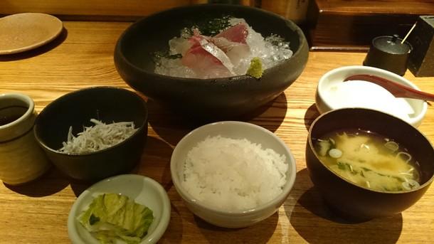 魚匠 銀平お造り定食
