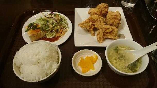 中国料理天祥唐揚定食