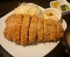 霜降高原豚特ロースかつ(230g)定食