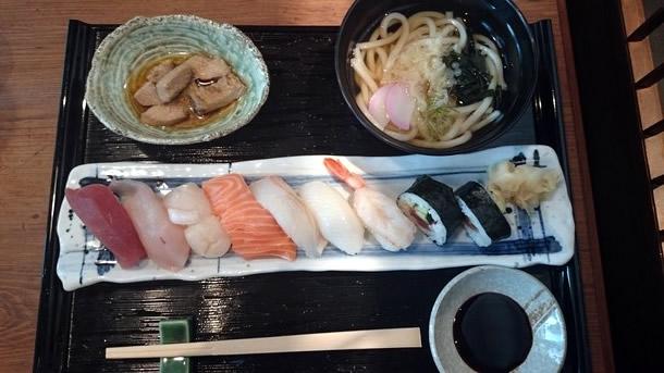 まるちゅう寿司定食