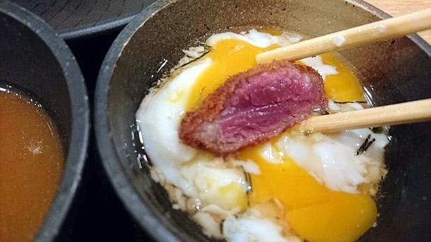 牛カツは卵につけても良い!