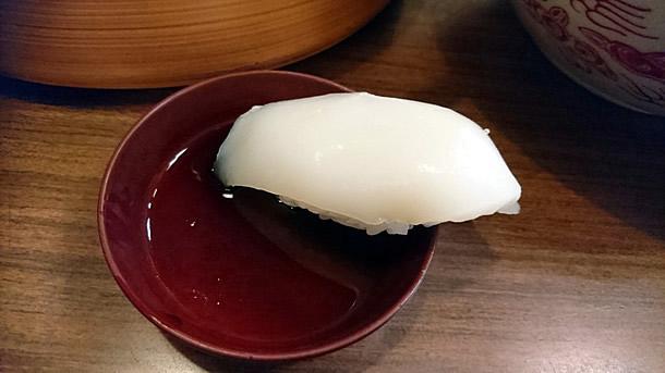 鳴門寿司のいか