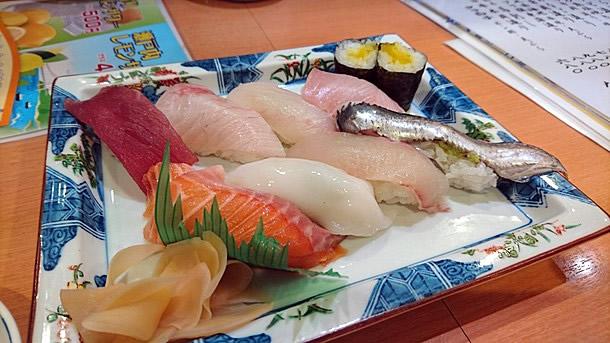 若狭寿司 寿司盛り合わせ