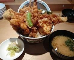 天丼ロ1,190円