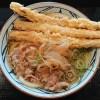 丸亀製麺 肉ごぼう天うどん