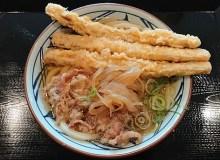 丸亀製麺の肉ごぼう天うどん!九州限定メニューが大阪でも食べれる