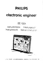 Manuals for the Philips EE electronic experiment kits and