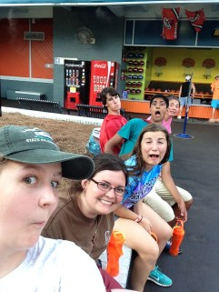 Hanging out with my FFA peeps at Six Flags over Georgia! What a great day filled with conquering fears and riding roller-coasters!