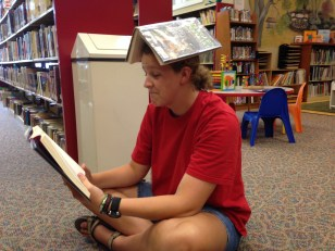 Well can you balance a dog-eared book on your head?