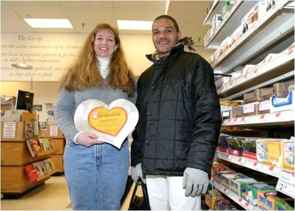 Whitney Knight of Brattleboro Food Coop & Abel Fernandez of CONACADO