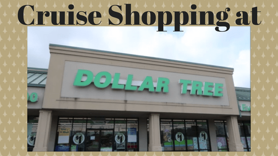 Cruise Shopping at Dollar Tree - EECC Travels