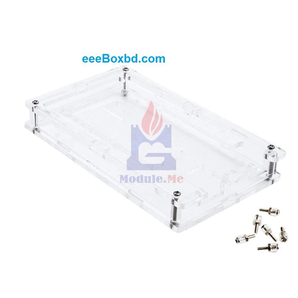 Acrylic Transparent Case Cover for ARDUINO BOARDS-MEGA2560