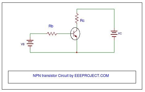 NPN transistor circuit
