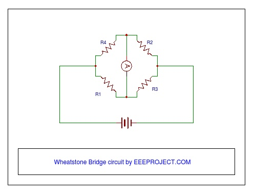 Wheatstone Bridge Circuit Working Principle and Application