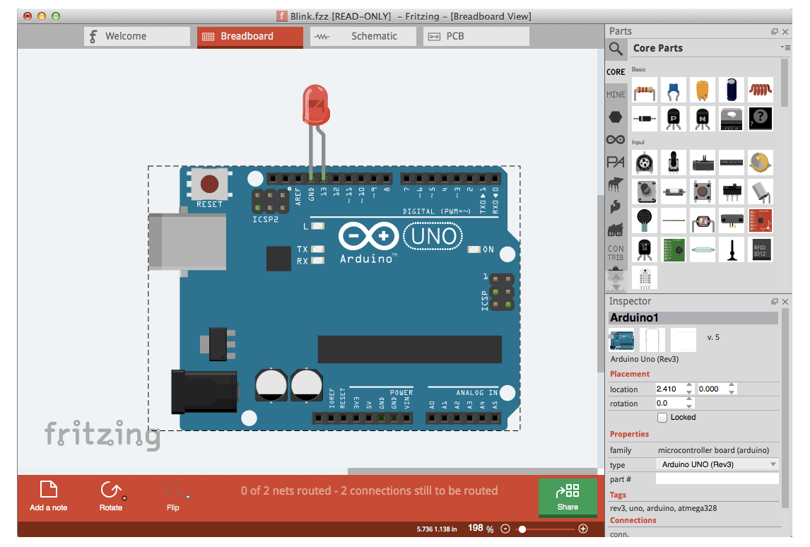 fritzing - Free PCB Design Software