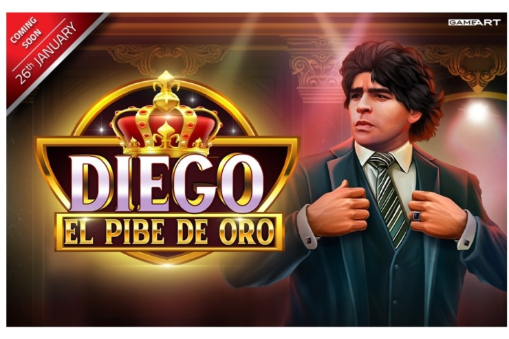 GameArt's Tribute to a Legend, Diego: El Pibe de Oro