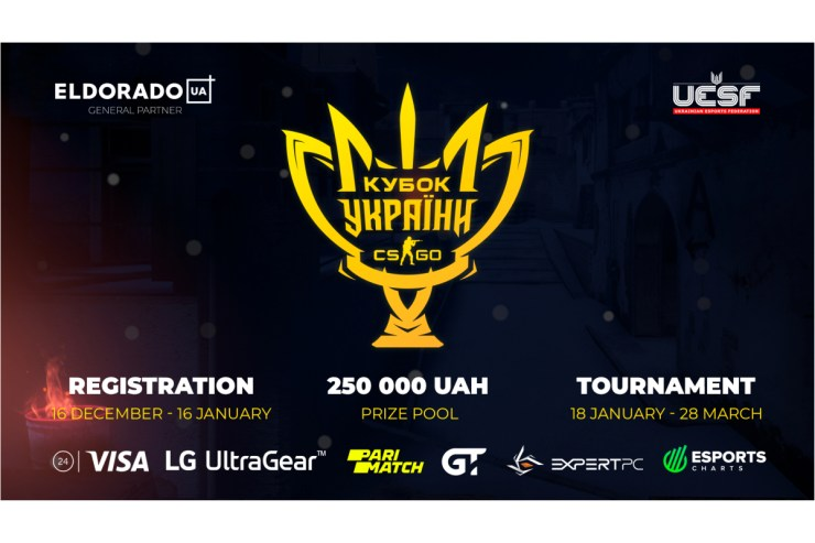 Ukrainian Esports Federation launches first ever Ukrainian Esports Cup