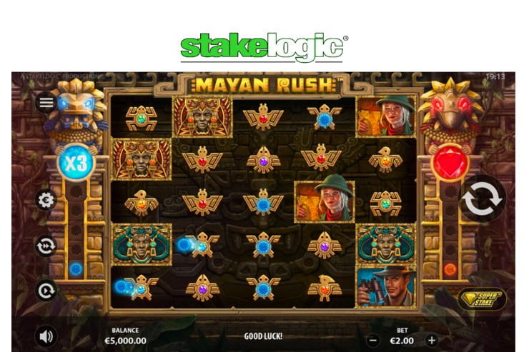 Feel the big win anticipation build with Mayan Rush™