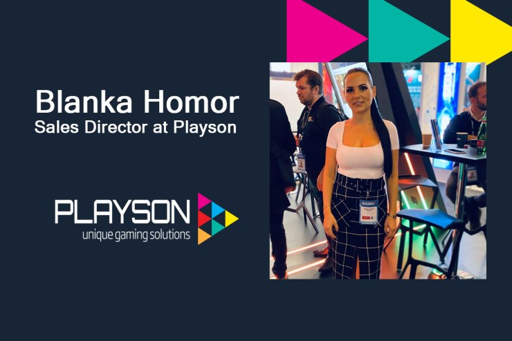 Exclusive Interview with Blanka Homor, Sales Director at Playson