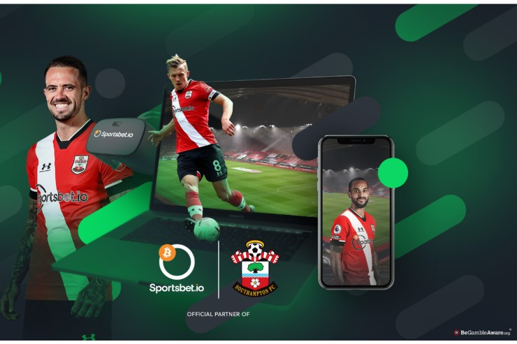 Southampton FC extends partnership with the Coingaming Group
