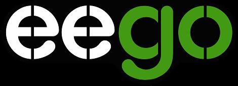 Eego logo, sähköpotkulauta ja sähköperämoottori verkkokauppa