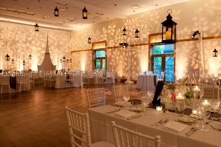 spring wedding lighting trends