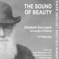 The Sound of Beauty: Darwin Lecture 2011
