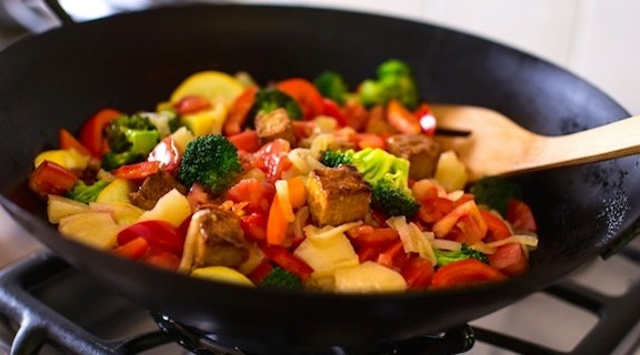 stir fried sweet and sour