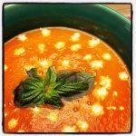 Italiaanse Tomatenroomsoep uit Thermomix
