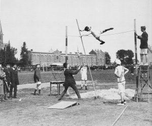 Schuttersveld atletiekwedstrijd 1920
