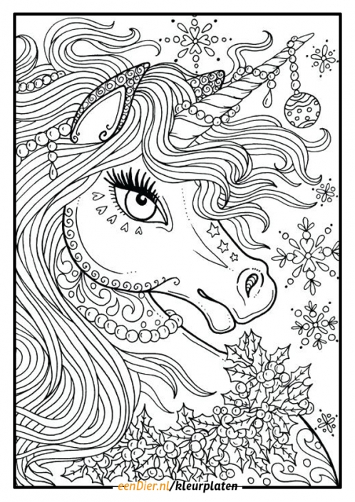 Kleurplaten Voor Volwassenen Eenhoorn.20 Beutiful Unicorn Design Coloring Pages Ideas And Designs