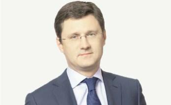 Александр Новак, Министр энергетики РФ