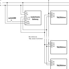 Dimming Ballast Wiring Diagram Amoeba Cell System Solution Simplifies Via The Mains Eenews Led