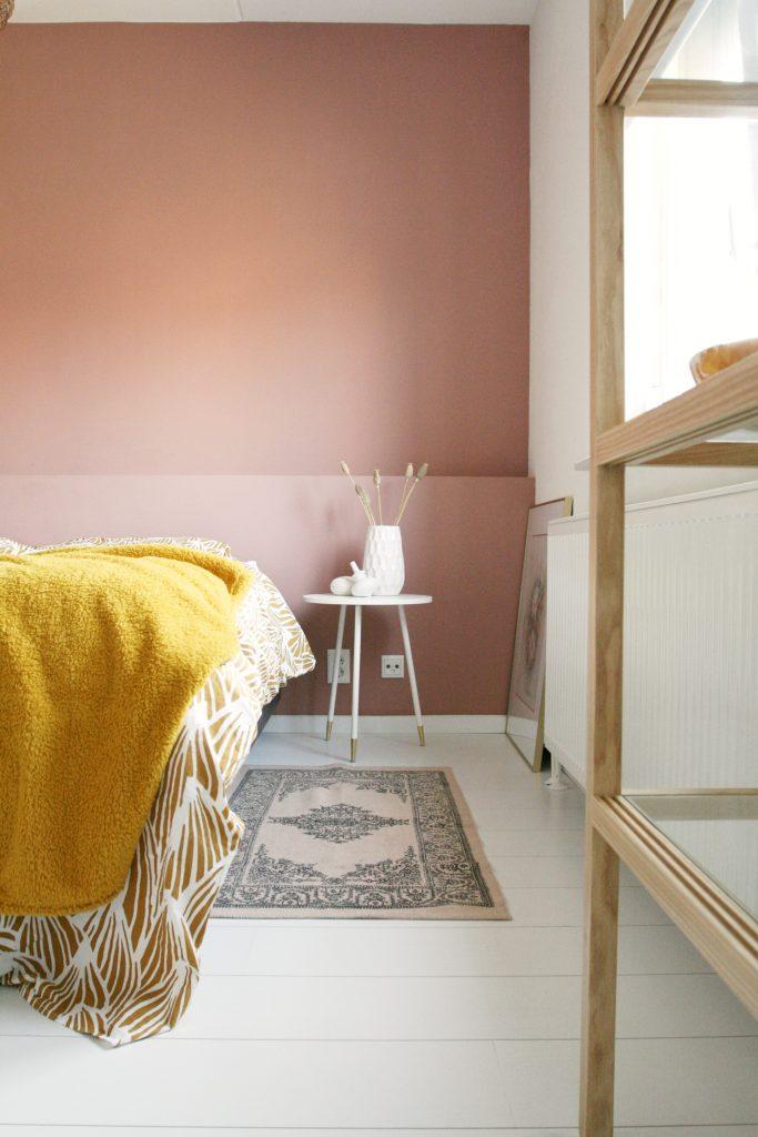 slaapkamerrozegeelkleedje  Eenig Wonen