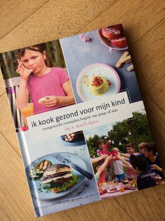 Ik kook gezond voor mijn kind - prof. Kristel De Vogelaere - Gezond dagmenu voor kinderen / www.eenlepeltjelekkers.be