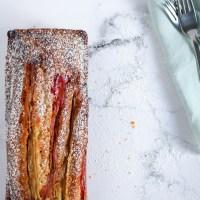 Rabarbercake met gember