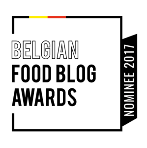 Belgian Foodblog Awards - nominee 2017