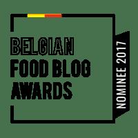Een lepeltje lekkers genomineerd voor Belgian Foodblog Award!