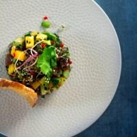 Thaise tonijntartaar met mango