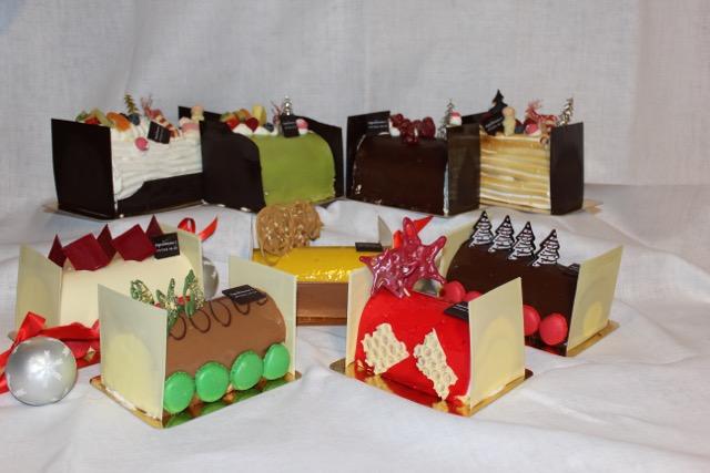 Kerstbuches Depredomme Bakkerij / www.eenlepeltjelekkers.be