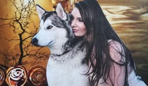Godin Artemis godin van de jacht en de maan