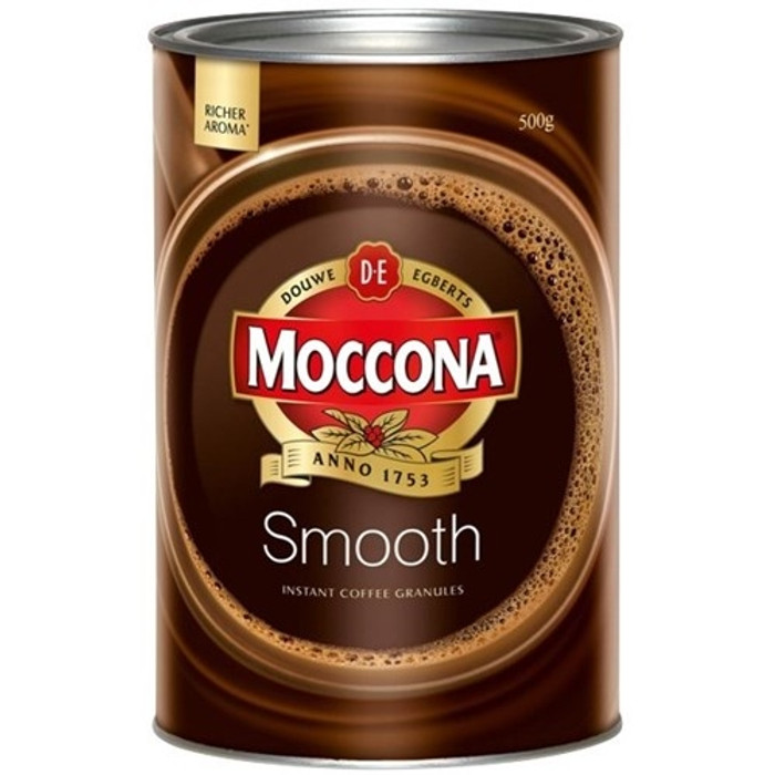 MOCCONA SMOOTH MILD COFFEE 500GM - Qizzle