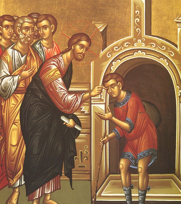 May 21, 2017 Sixth Sunday of Pascha: Sunday of the Man Born Blind; Holy Great Rulers Constantine (337) and Helen (330), Equals-to-the-Apostles