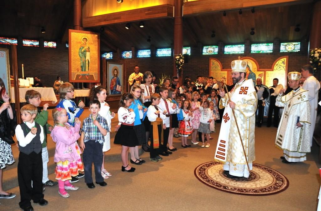 Patriarchal Visit – June 03 – Greeting at St. Stephen Parish Calgary (ENG/UKR)