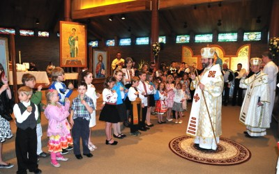 Patriarchal Visit – June 03 – Greeting at St. Stephen Parish Calgary (ENG/UKR)