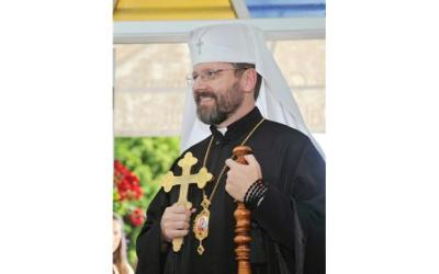 His Beatitude, Patriarch Sviatoslav Shevchuk blesses the creation of a Prayer Fellowship of Metropolitan Andrey Sheptytsky